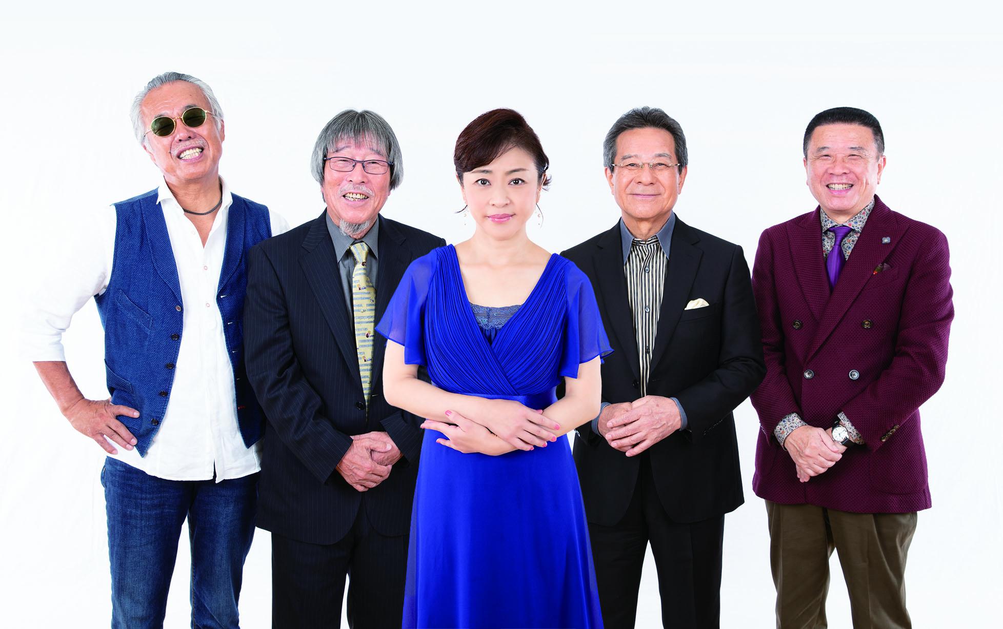 松本明子with杉岡弦徳 歌謡組曲 恋猫(アー写)
